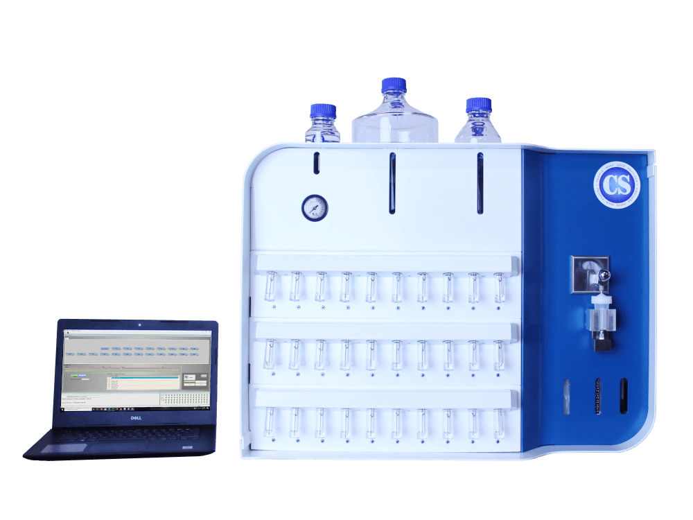 CSBio II Automated Research Scale Peptide Synthesizer - Model CSBio II, for research scale automated peptide synthesis