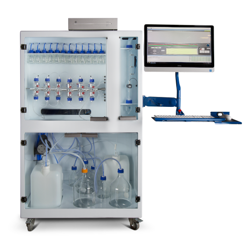 CSBio Automated 6RV Parallel Peptide Synthesizer - Model CS136M, for high throughput automated peptide synthesis